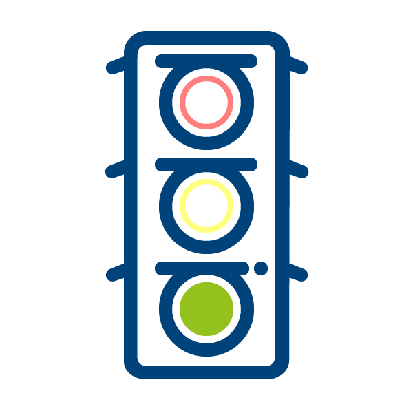 Trafic lights icon